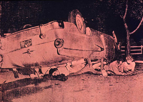 Andy Warhol Red Car Crash