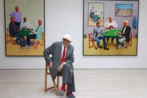 David Hockney vangt ruimte op het doek