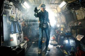 In Ready Player One draait de computer op lucht